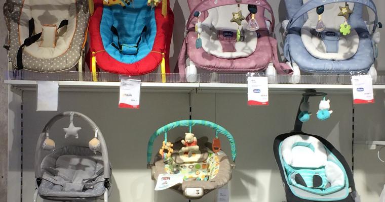 Was hat die Babywippe mit dem Laufen zu tun?